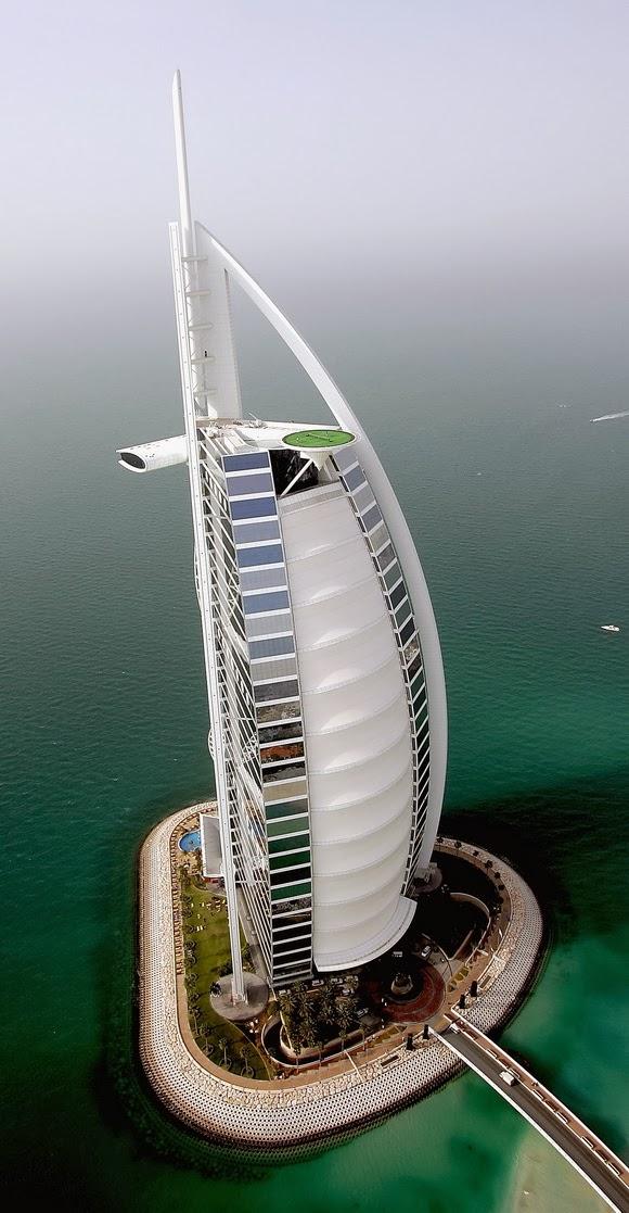 3. Γήπεδο τένις στο Burj Al Arab, Η