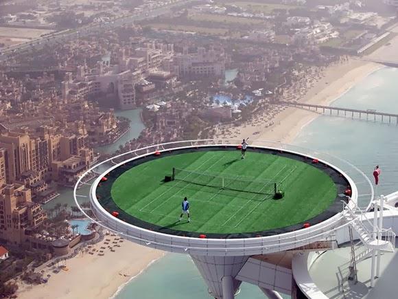 3. Γήπεδο τένις στο Burj Al Arab, Η2